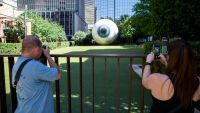 Downtown 'Eye' Repairs to Cost 'North of $100,000,' Says Artist