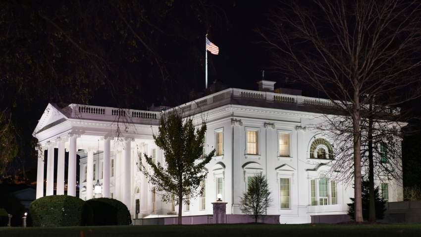 This November 23, 2020 photo shows the White House in Washington, DC. - President Donald Trump came his closest yet to admitting election defeat November 23 after the government agency meant to ease Joe Biden's transition into the White House said it was finally lifting its unprecedented block on assistance.