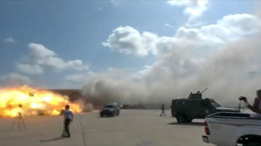 Yemeni Officials: Blast at Aden Airport Kills 25, Wounds 110 – NBC 5  Dallas-Fort Worth
