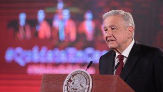 President of Mexico Andres Manuel Lopez Obrador