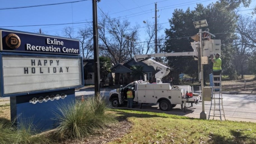 The City of Dallas announced Monday that air quality meters were being installed this week in nine neighborhoods that were selected as part of the city's Breathe Easy Project.