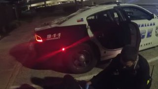 Dallas Police on Saturday released a video of the in-custody death of Steve Keith Jarrell Jr., a 35-year-old man who fell unconscious as officers transported him to Medical City Green Oaks Hospital early Tuesday and later died.