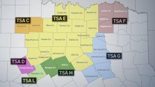 tsa region map