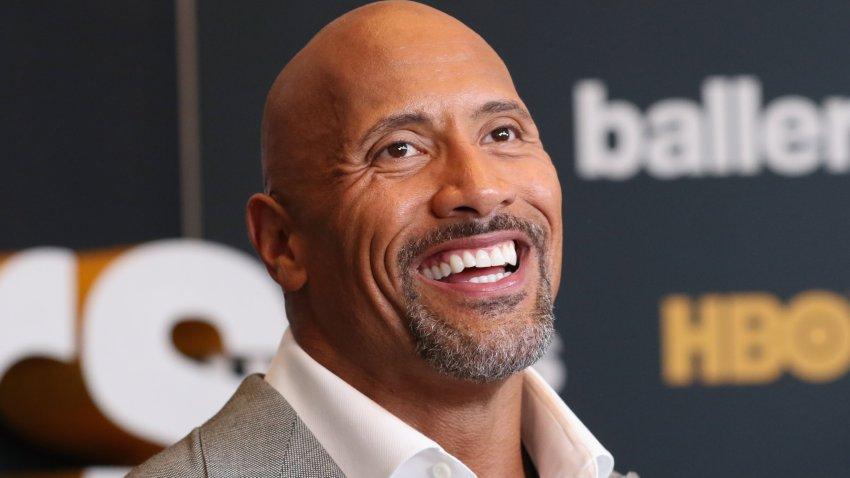 "Dwayne Johnson playsSpencer Strasmore in HBO's ""Ballers."""