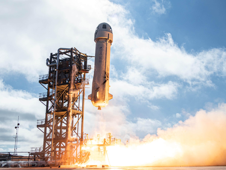 Blue Origin Demonstrates Successful Crew Capsule Test Mission