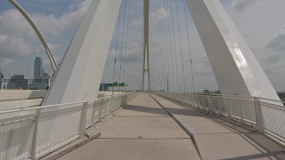 Work is finally set to begin to address issues that have prevented the opening of the long-awaited hike and bike portion of the Margaret McDermott Bridge over the Trinity River in downtown Dallas.