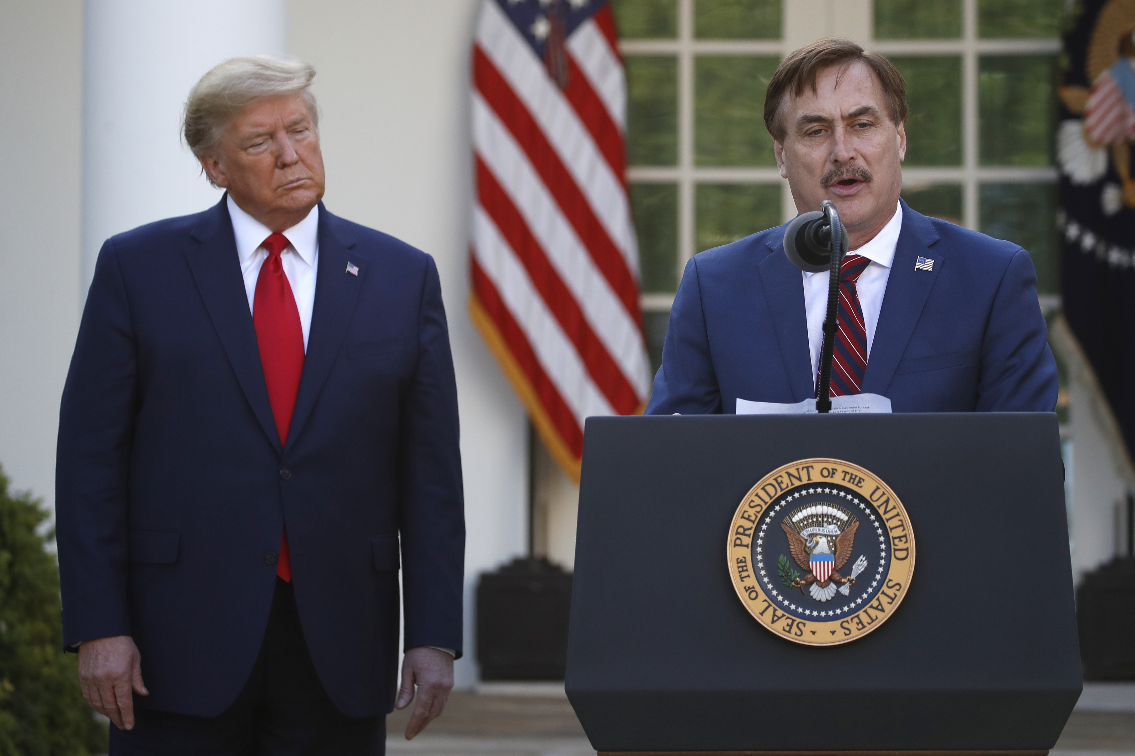 Twitter Permanently Bans My Pillow CEO Mike Lindell