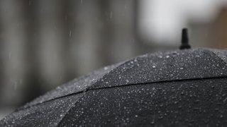 Rainy day in Turkey's Ankara