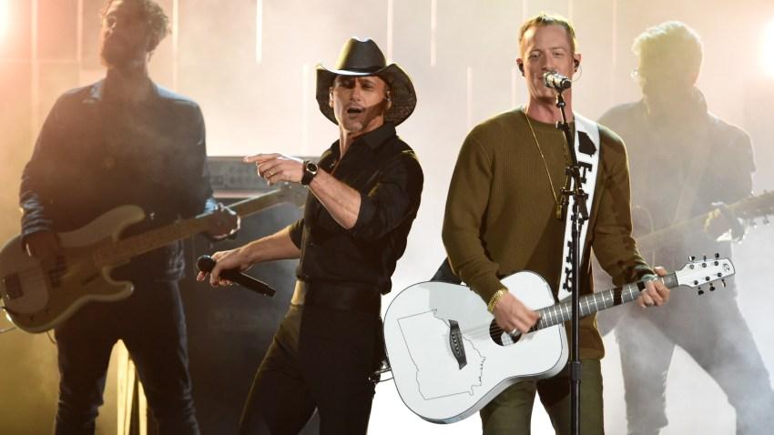 Tim McGraw and Tyler Hubbard