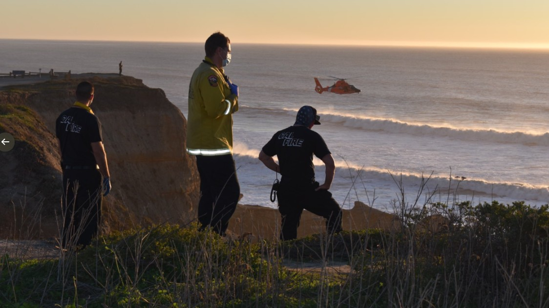 Crews Search for 12-Year-Old Boy Swept Into Water at California Beach