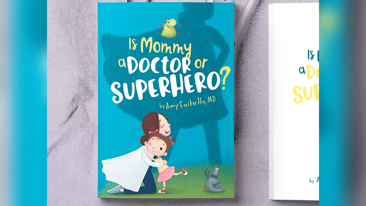 Photo of Local ER Doctor Publishes Children's Book Celebrating Moms in Medicine