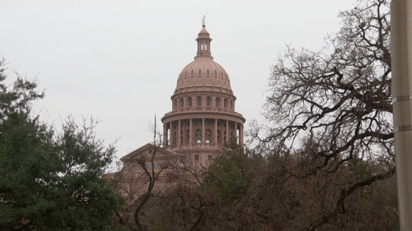 Extra law enforcement were pulled in and the Texas Capitol remained closed on Wednesday in preparation for the possibility of rowdy demonstrations, but all was calm.