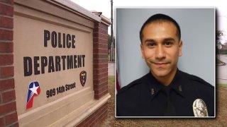 photo of officer xavier moreno