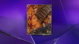 Art Piece- African American Woman with Braids- African American Museum of Dallas