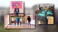 Middle Schoolers Welcome Preschoolers Impacted by Winter Storms to Campus