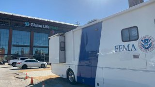 The first two COVID-19 vaccine sites run by the federal government opened in Dallas and in Arlington on Wednesday and expect to give 3,000 COVID-19 shots a day at each location.