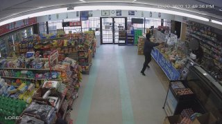 Fort Worth police said Thursday they have arrested a man involved in a gun battle at a convenience store.