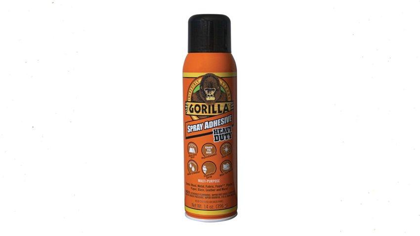 Gorilla Glue's Spray Adhesive.