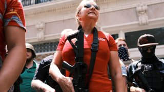 Open Carry Protest Held In Richmond, Virginia On Independence Day