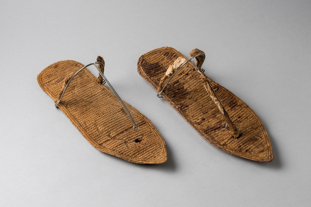 Nefertari's sandals