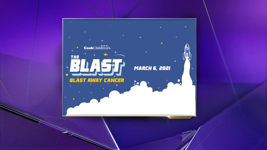 Flyer for the Blast 2021 at Cook Children's