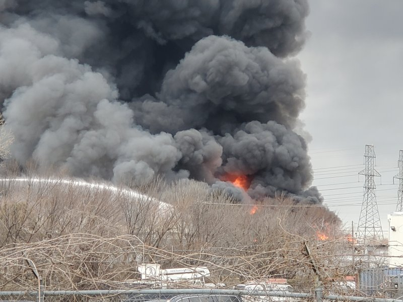 Viewer Photos: Richland Hills Recycling Center Fire