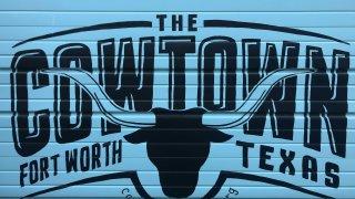 cowtown marathon logo