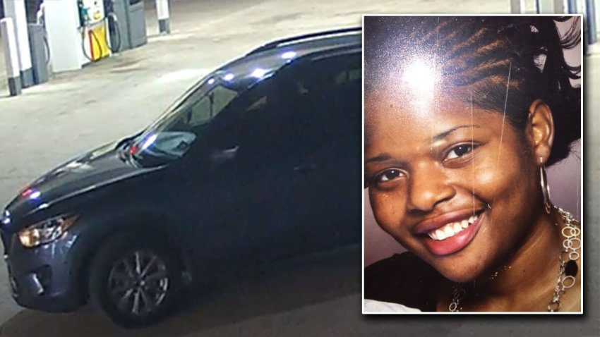 This is a picture of Cynthia's car she was last seen driving and a picture of her.