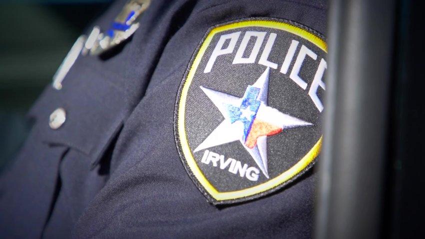 irving police shoulder patch