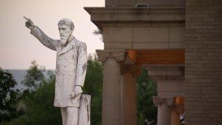 james throckmorton statue