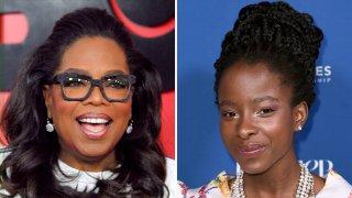 (Left) Oprah Winfrey, (Right) Amanda Gorman.