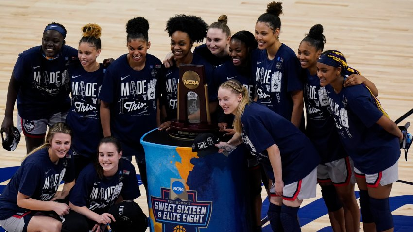 NCAA Baylor UConn Basketball 2021