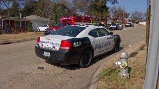 Picture of a Dallas Police car