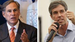 Greg Abbott And Beto O'Rourke
