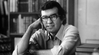 FILE: Author Larry McMurtry at his suburban Washington home.