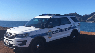 Kauai Police Vehicle