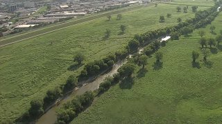 The body of an unidentified man was recovered Saturday from the Trinity River between Dallas and Irving, officials say.