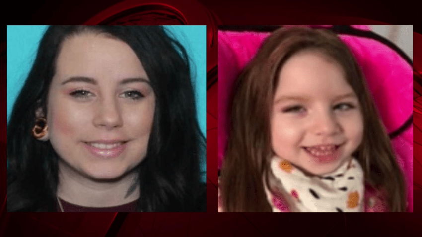 An Amber Alert was issued for a 3-year-old girl from College Station on Thursday afternoon.
