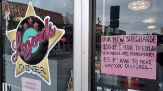 legends diner sign