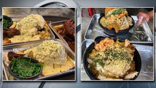 turkey leg hut food