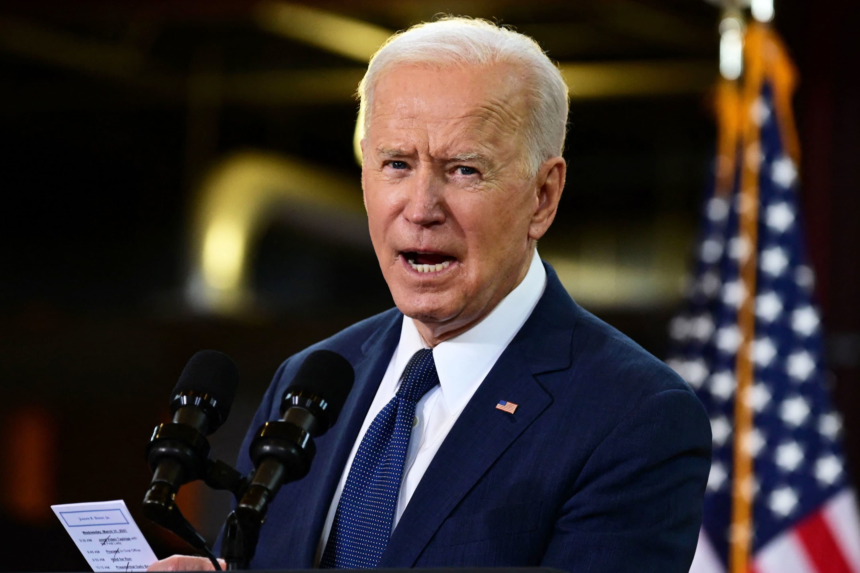 Biden Administration Makes Pitch for Higher Business Taxes