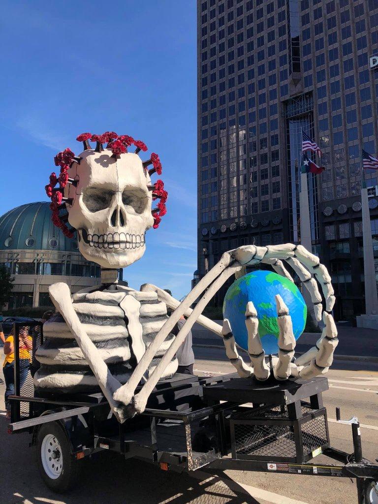 Cara Mia Theatre Day of the Dead 2020 Procession