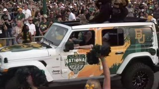 Baylor and coach Scott Drew have refused to accept a vehicle wrapped with the school's national championship logo after an insensitive remark made by the dealership's general manager when discussing it during a live TV interview.