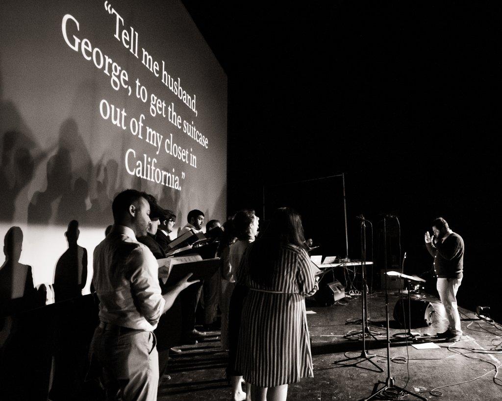 Verdigris Ensemble Betty's Notebook 2019 concert