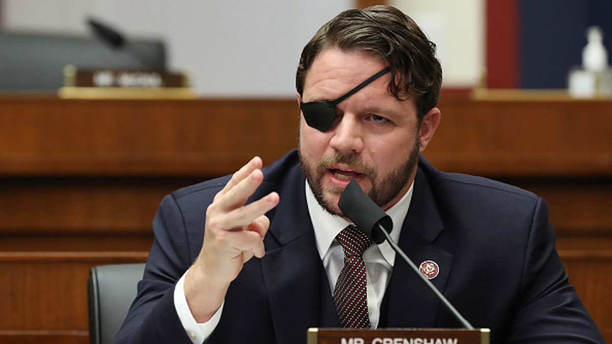 US Rep. Crenshaw Temporarily Blinded After Eye Surgery