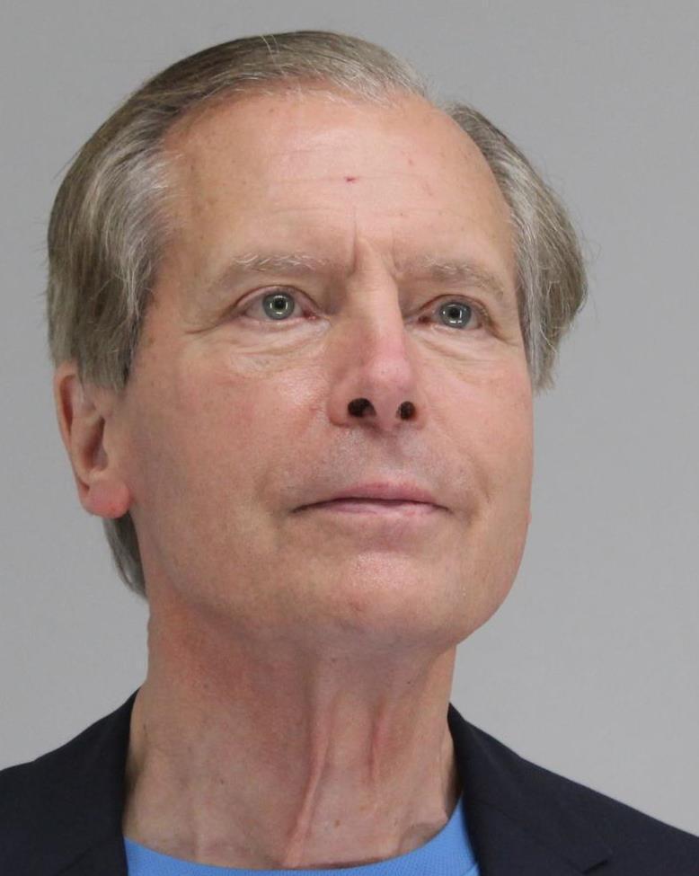 David Dewhurst, 75, pictured in a mugshot following his arrest April 13, 2021.