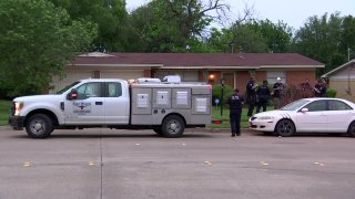 A young child died Friday night after being attacked by a dog at a home in Fort Worth.
