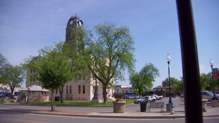 The Hood County courthouse in Granbury, Texas. Granbury Mayor Nin Hulett has submitted his letter of resignation following a DWI arrest in April.