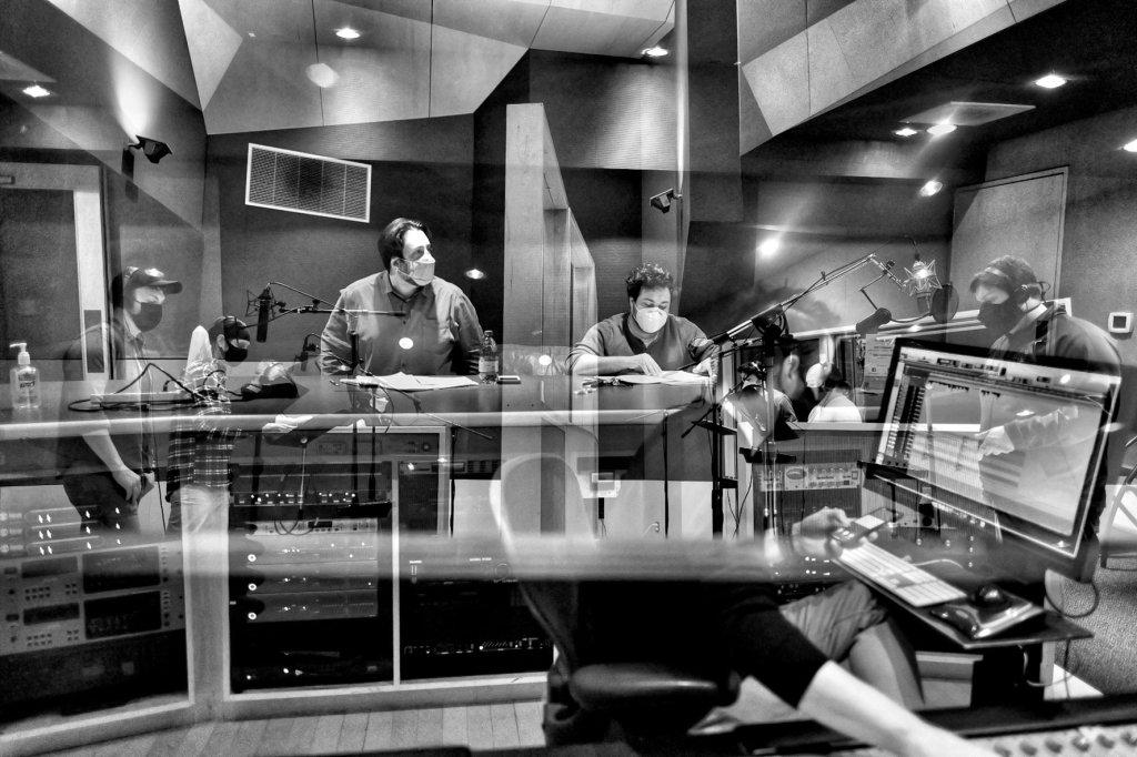 Verdigris Ensemble ghi lại Blockchain Anthony Maglione Sam Brukhman