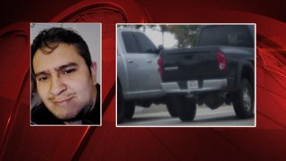 Police are searching for Ricardo Navarro-Carvajal, who they say shot Doris Ramirez on Sunday in east Oak Cliff.